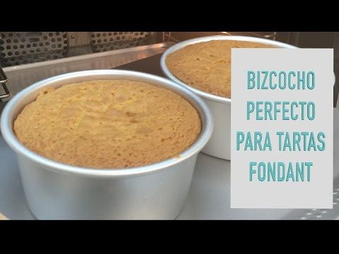Bizcocho perfecto para tartas fondant - Todos los trucos y consejos para un bizcocho perfecto - YouTube