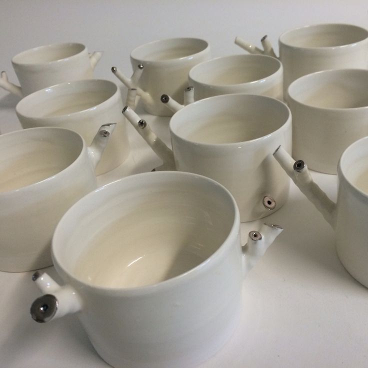 First batch of porcelaine cups