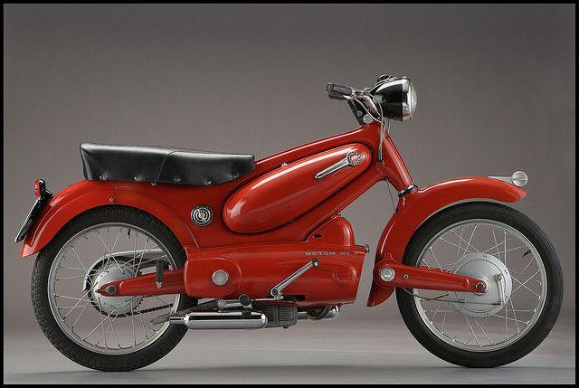 Motom T 98 Bubu Motorcycle Old Motorcycles