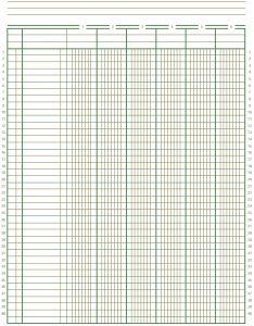 Free Accounting Ledger Paper Budget Binder General Ledger Timesheet Template Resume