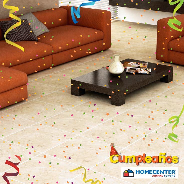 Ilumina tus espacios cambiando los pisos de tu casa ¿Te gusta?   #CumpleañosHomecenter