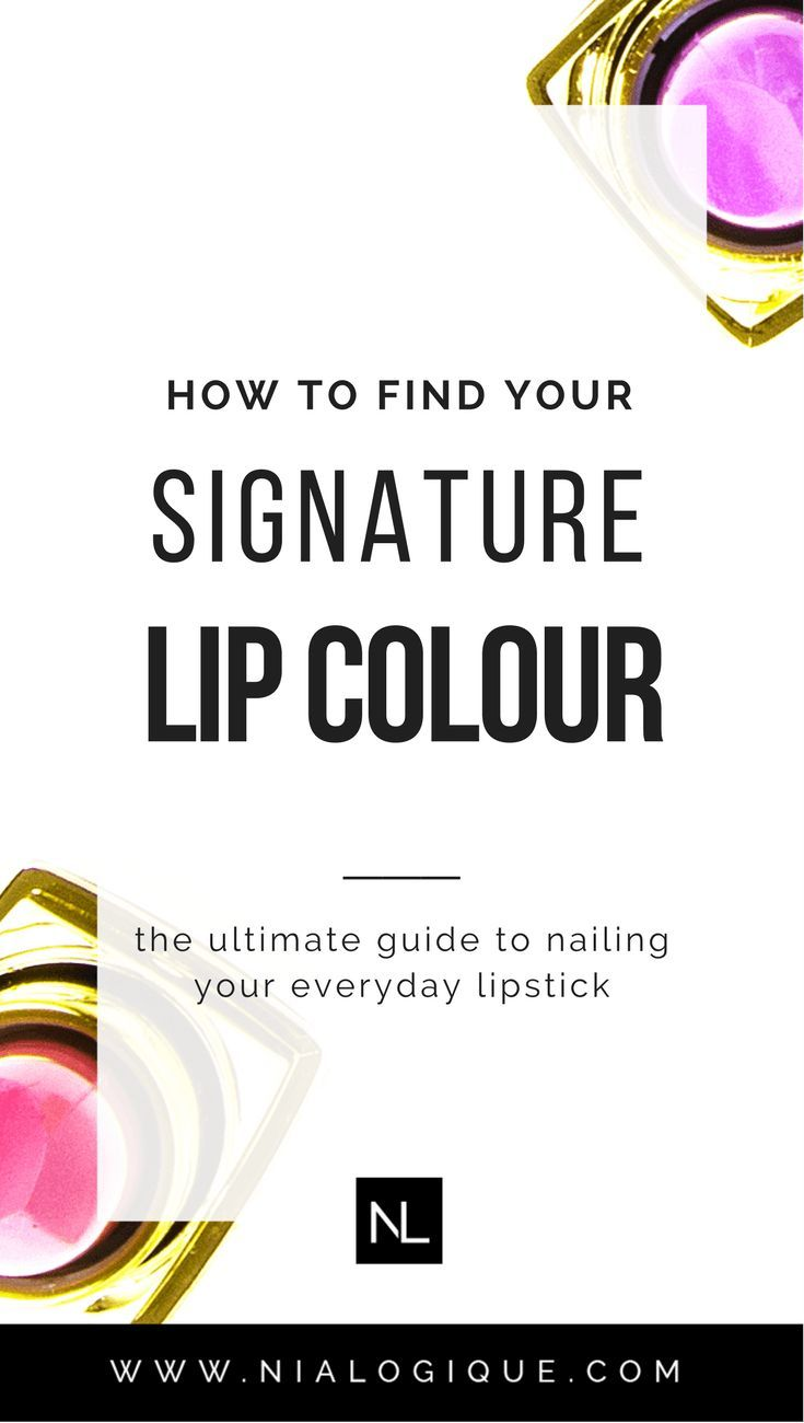 How To Find Your Signature Lipstick and Lip Colour   Click through to learn all about how to match your makeup to your surface skin tone, your undertone, your personality, and your style.   beauty tips, makeup tips, makeup tutorial