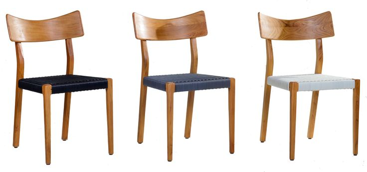 Row of 3 Sweet 21 Chrais. Nicely designed in scandinavian style.