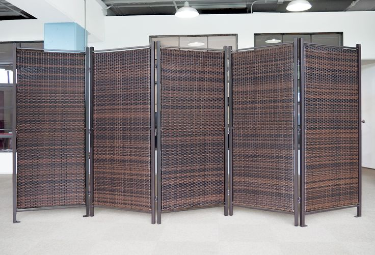 No Jokeu2014we Now Have A Folding Wicker Partition! Blocking The Sun While  Enjoy The Outdoor Patio Just Got Easier.