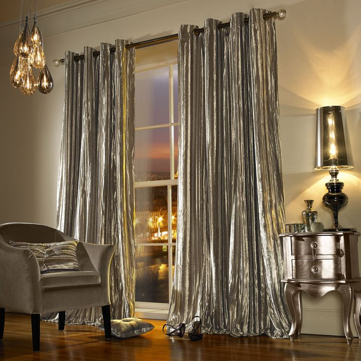 black and gold bedroom curtains Best 25+ Silver curtains ideas on Pinterest | Black and