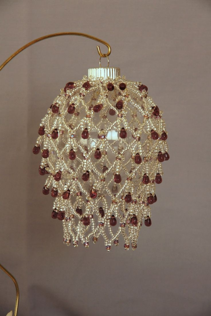 1108 Best Images About Beaded Christmas Tree Ornament On