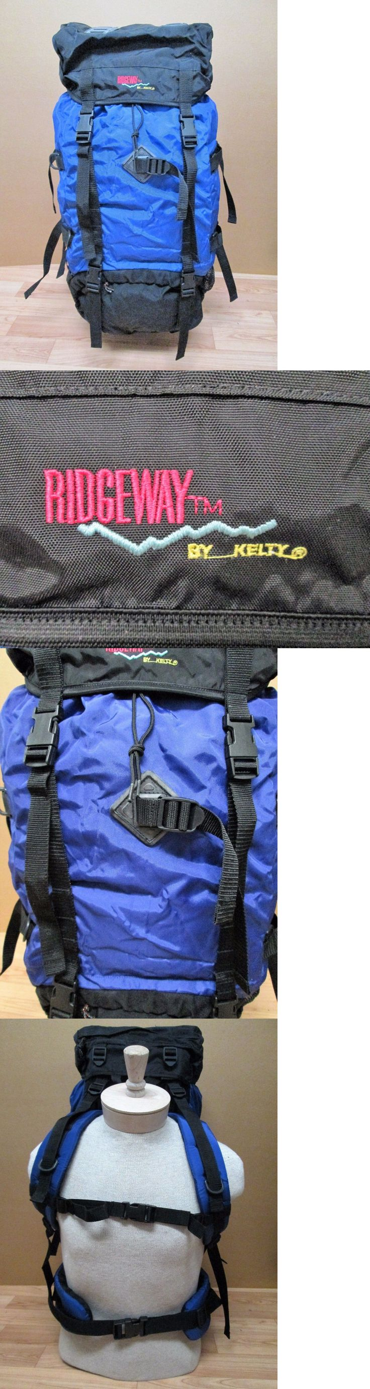 Other Camping Hiking Backpacks 36109: Ridgeway By Kelty Backpack Pack Hiking Camping Internal External Frame Purple -> BUY IT NOW ONLY: $59.99 on eBay!