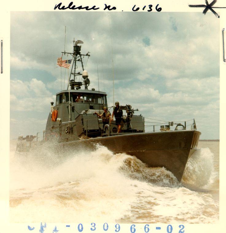 Coast Guard 82 foot patrol boat in Vietnam.