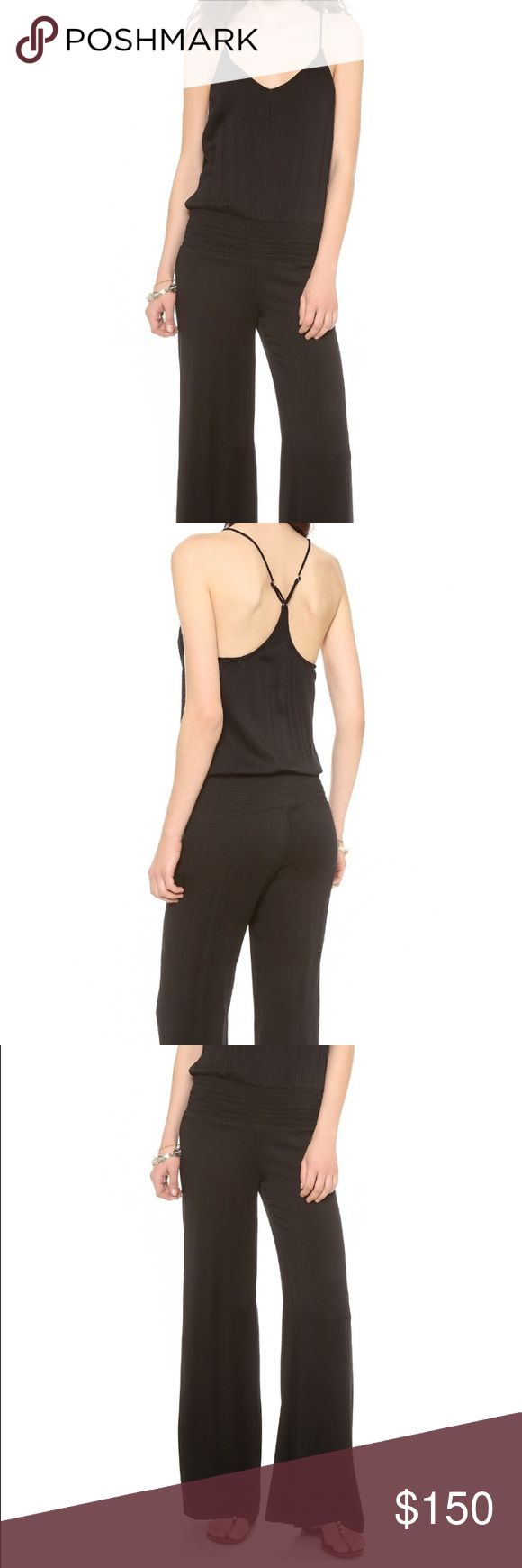 Young Fabulous & Broke Milla Jumpsuit Casual black jumpsuit. Soft jersey. Young Fabulous & Broke Pants Jumpsuits & Rompers