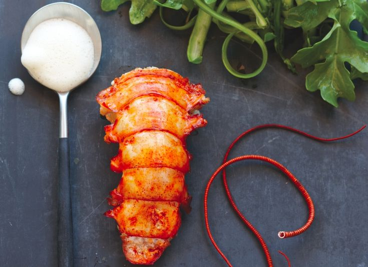 A simple lobster preparation benefits from an unexpected tangy-sweet vanilla vinaigrette.