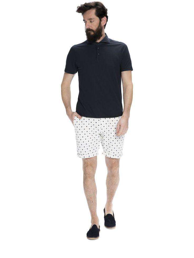 Polohemd mit Hemdkragen | Polohemden | Herrenbekleidung von Scotch & Soda #oberteile