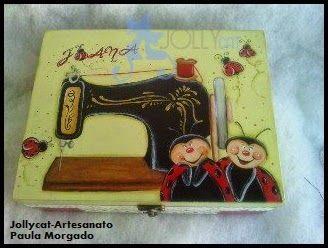 Jollycat-Artesanato : Caixa de costura
