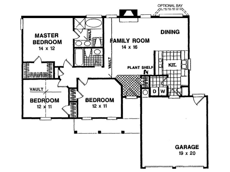 Briar ranch home first floor from for House plans and more com home plans