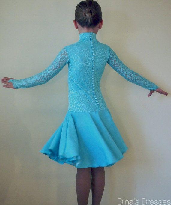 Платье для бальных танцев Evelyn от DinasDresses на Etsy