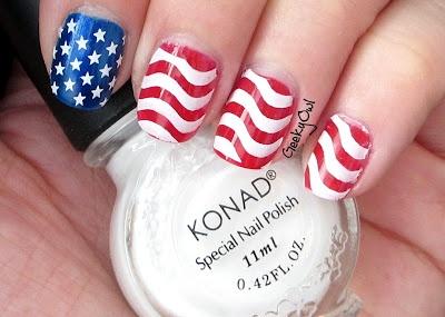 Geeky Owl: Happy 4th of July!Makeup Nails, Nails Makeup, Fun Nails, Beautiful, Pretty Nails, Nails Ideas, 4Th Of July, Clothes'S Hair, American Nails
