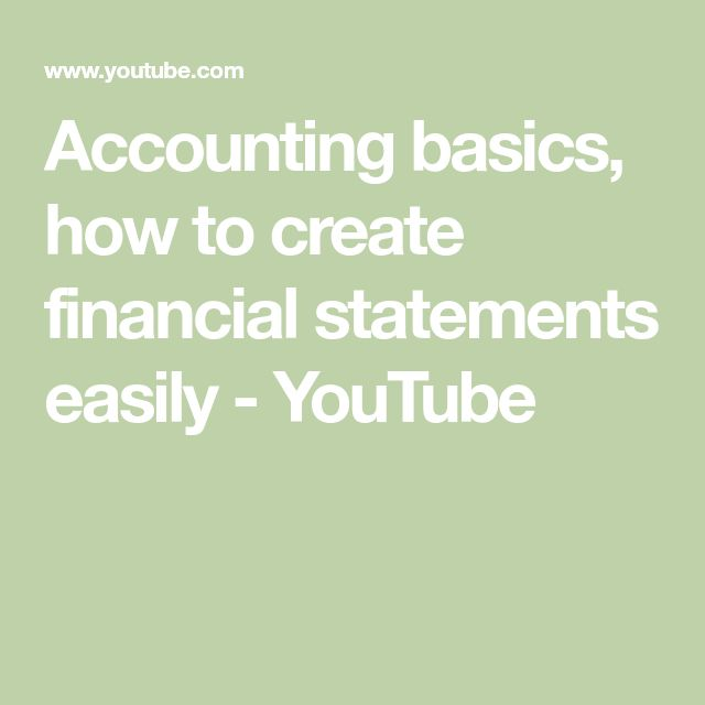 The 25+ best Financial statement ideas on Pinterest Financial - essential financial statements business