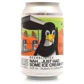 Beerbliotek - Nah...Just Had Some Ice Cream #178 Blueberry & Lactose Berliner Blik 3.5%