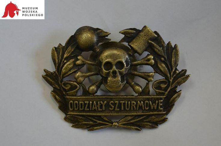 Odznaka na czapkę Oddziałów Szturmowych (l. 1919-1921).