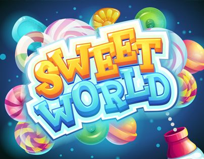 """Check out this @Behance project: """"Sweet world candy shooter mobile GUI"""" https://www.behance.net/gallery/37713857/Sweet-world-candy-shooter-mobile-GUI"""