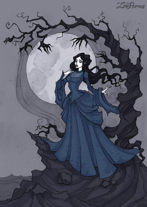 Annabel Lee I by IrenHorrors.deviantart.com on @DeviantArt