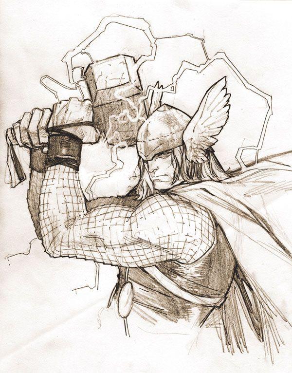 Thor Odinson (sketch)