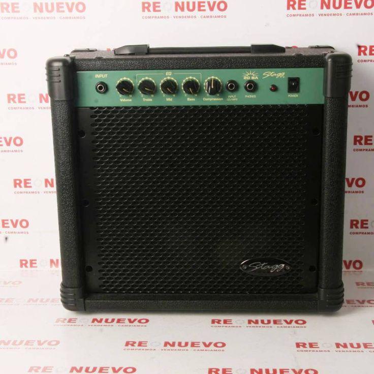 Amplificador de guitarra de segunda mano STAGG 26W E279426   Tienda online de segunda mano en Barcelona Re-Nuevo