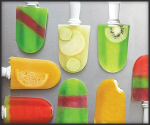 This popsicle maker works exactly as advertised.  Really quite cool and the kids love it!