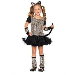 Wholesale Halloween Costumes - Kids Little Leopard Costume for Girls