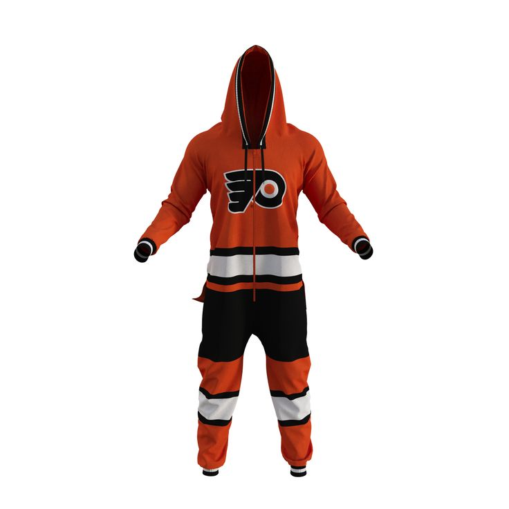 Philadelphia Flyers NHL Onesie - Hockey Sockey >I would wear the heck out of this<
