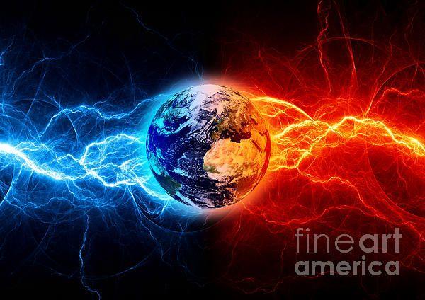 Title  Planet Earth Apocalypse  Artist  Martin Capek  Medium  Digital Art - Artistic Collage