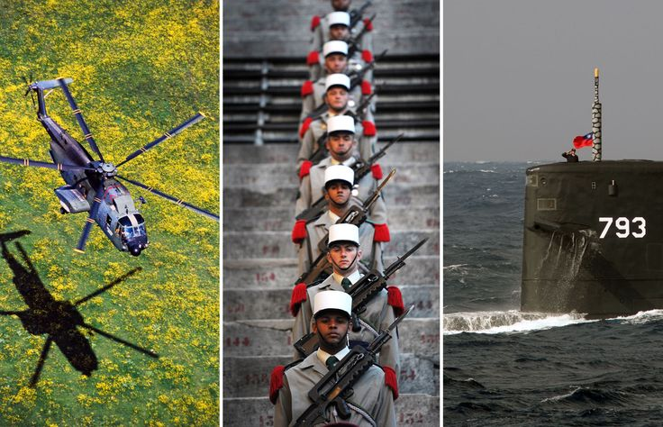 The most powerful military nations 2015