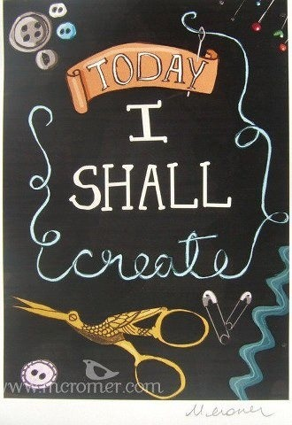 create: Inspiration, Crafts Rooms, Crafts Spaces, Quote, Sewing Spaces, Art, Sewing Rooms, Prints, The Crafts