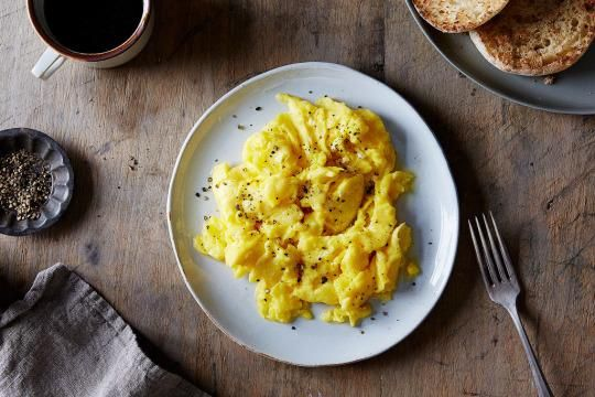 Finally, a solution to the scrambled egg debate: low and slow, or high and fast.