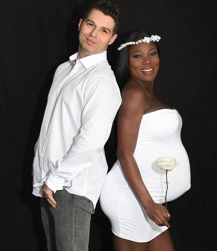 Truly beautiful interracial pregnancy photography #love #wmbw #bwwm #swirl #biracial #mixed #lovingday #relationshipgoals