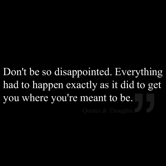 17 Best Images About Disappointment Quotes On Pinterest