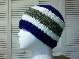 Basic Double Crochet Beanie Pattern....FREE