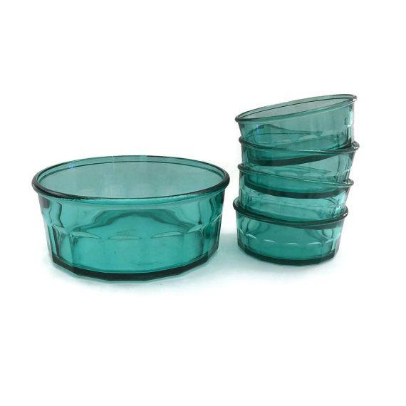 Arcoroc France Bowls Arcoroc France Glass by TreasuresFoundShoppe