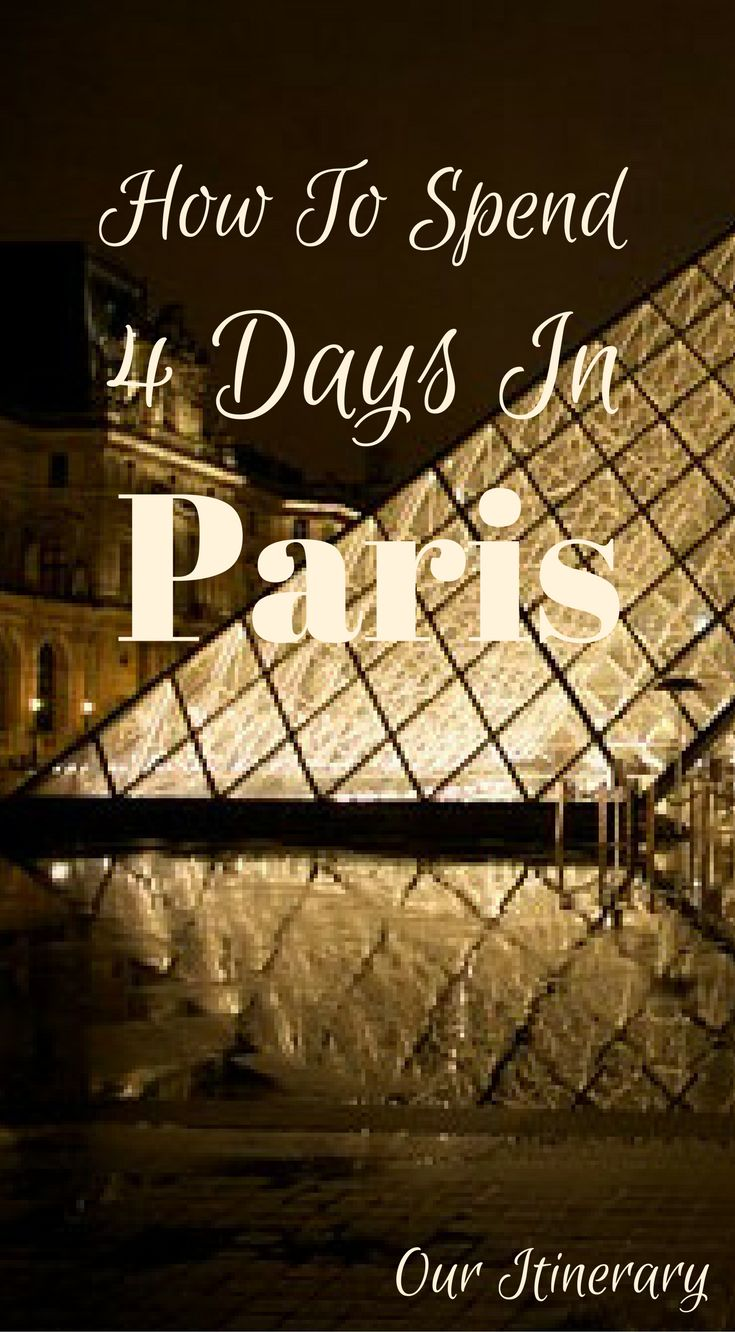 Long Weekend in Paris Itinerary – 4 Days in Paris Guide by the Divergent Travelers Adventure Travel Blog. Paris is one of the most visited cities in Europe and has a surplus of iconic things to do and see. This is what makes a long weekend in Paris the perfect getaway with your loved one or even your girlfriends. I would recommend. Click to read more at http://www.divergenttravelers.com/long-weekend-in-paris/