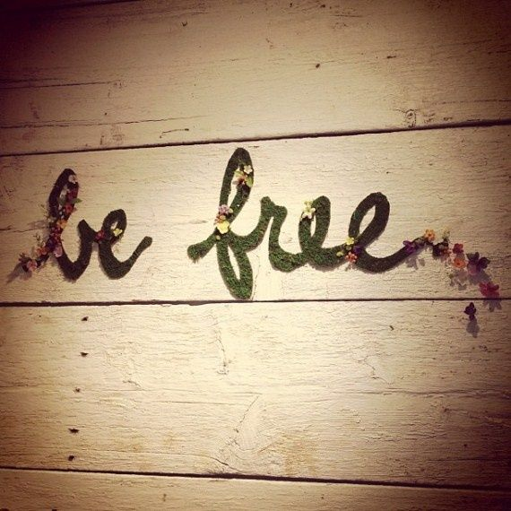 Be free. #Happiness