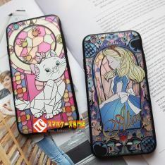 iphone6ケース7ディズニー女子向けアイフォン6plus携帯カバーマット素材浮き彫りストラップ付きソフトケースアリス