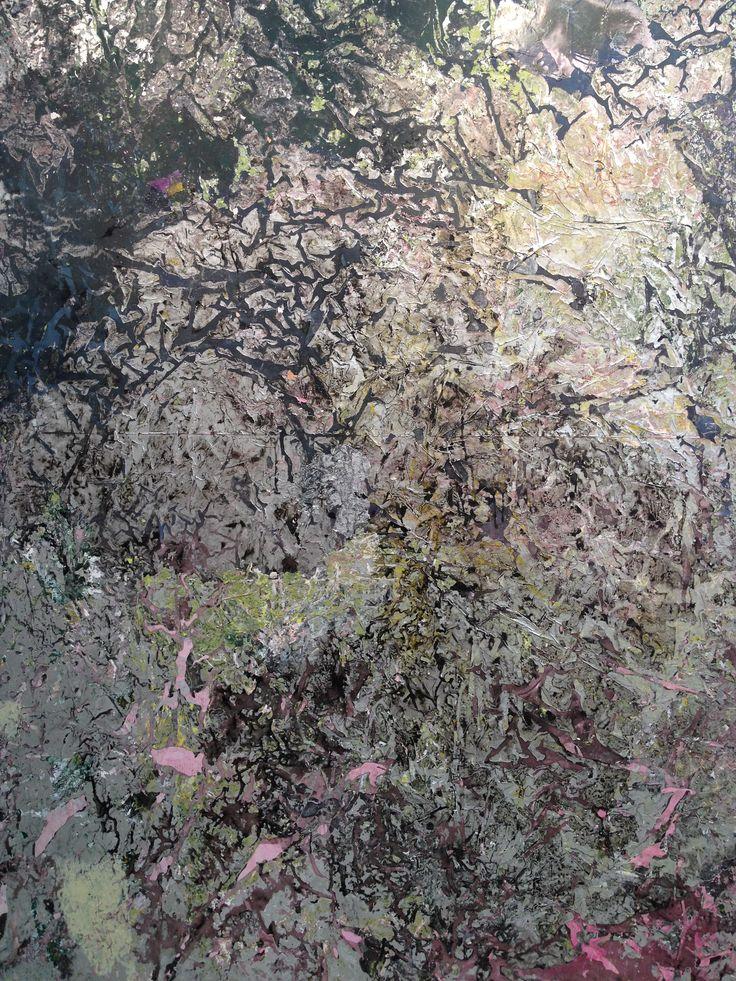 Adrian Schiess. Papillon, 2014. Acrylic on polyester, 275 x 240 cm. http://webadmin.fr