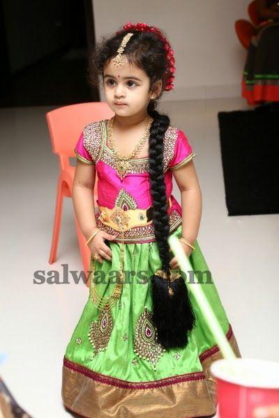 Lovely Girl Pretty Green Color Skirt | Indian Dresses