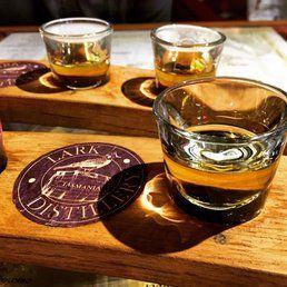 Lark Distillery - Hobart Tasmania, Australia. Nice paddle of whisky