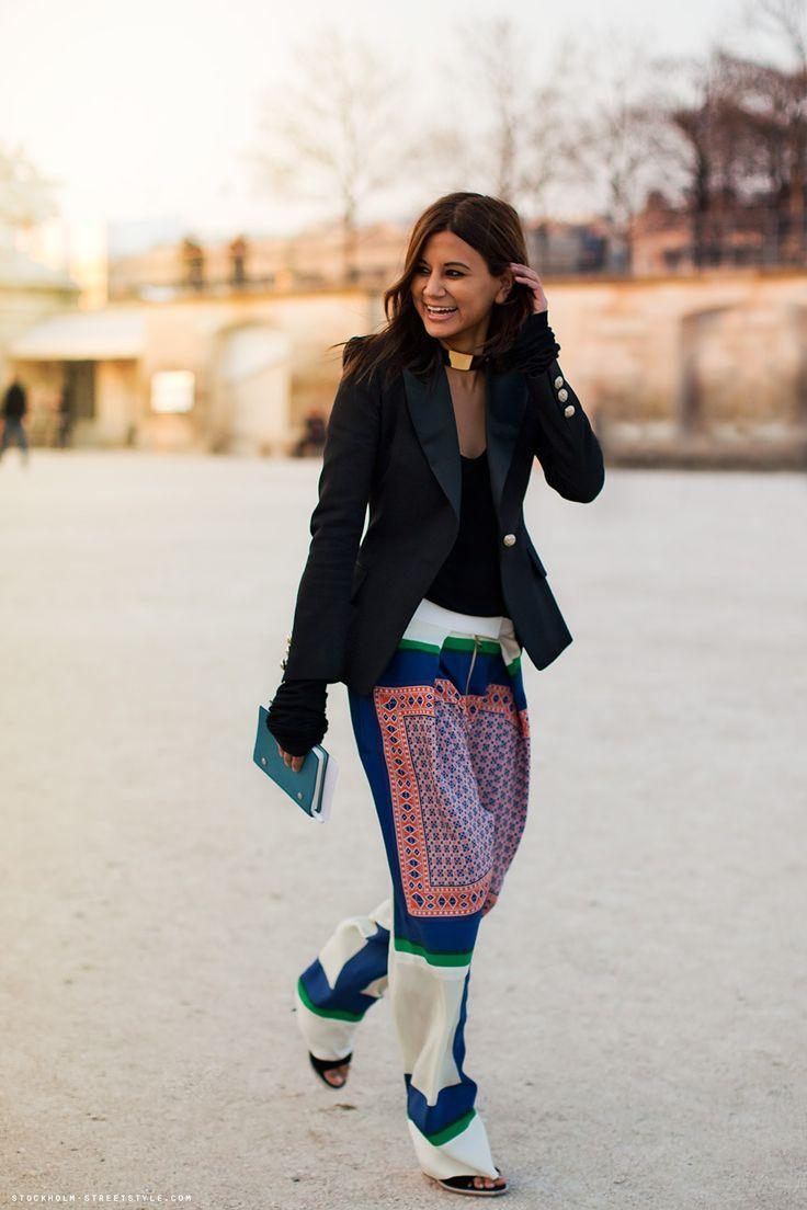 Christine CenteneraColors Pants, Fashion, Prints Pants, Palazzo Pants, Celine Pants, Street Style, Christine Centenera, Style Icons, Centenera Style