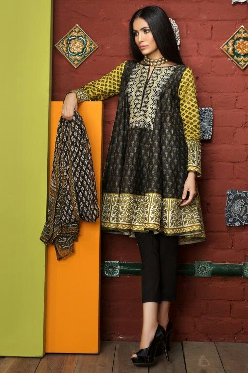 Khadi 2017 Kurti Fashion Stylish Dresses Asian Outfits