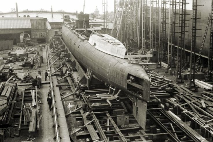 ORP Orzeł under construction in the Netherlands, 1936-1939 | DEFENCE24