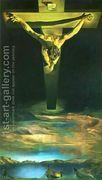 Christ of Saint John of the Cross  by Salvador Dali (inspired by)