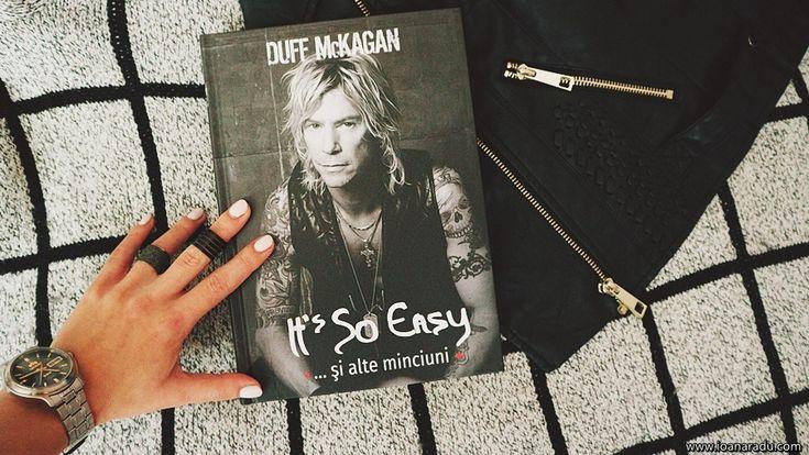 It's so easy... si alte minciuni • Duff McKagan • Guns N' Roses • book • Editura Casa • rock star