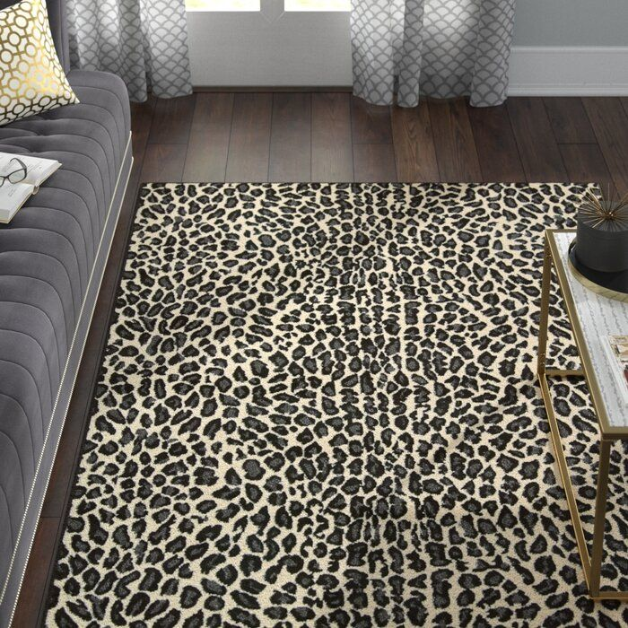 Colletta Power Loom Ivory Black Rug Black Area Rugs Area Rugs Cheap Area Rugs