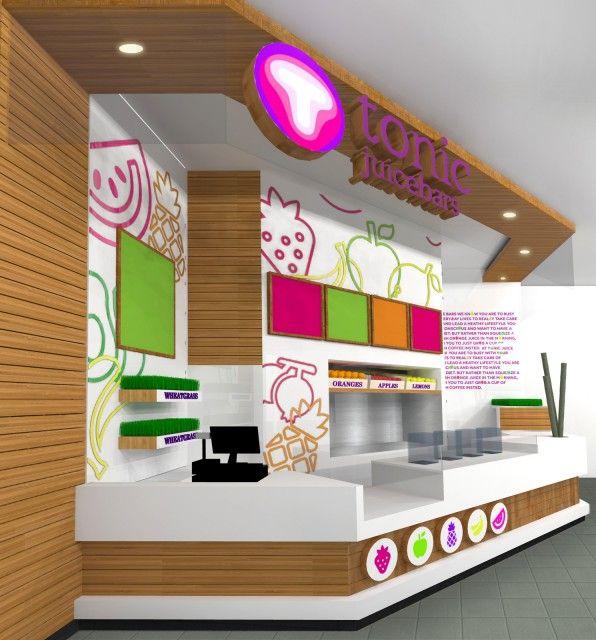 Tonic Juice Bar Interior Design2